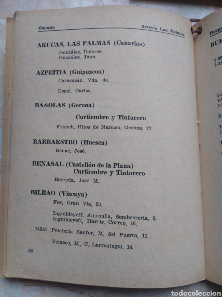 Libros de segunda mano: Directorio Industria Peletera WINCKELMANN 1948 - 49 - 51 Argentina América Latina España Portugal - Foto 3 - 208448406