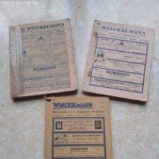 Libros de segunda mano: DIRECTORIO INDUSTRIA PELETERA WINCKELMANN 1948 - 49 - 51 ARGENTINA AMÉRICA LATINA ESPAÑA PORTUGAL. Lote 208448406