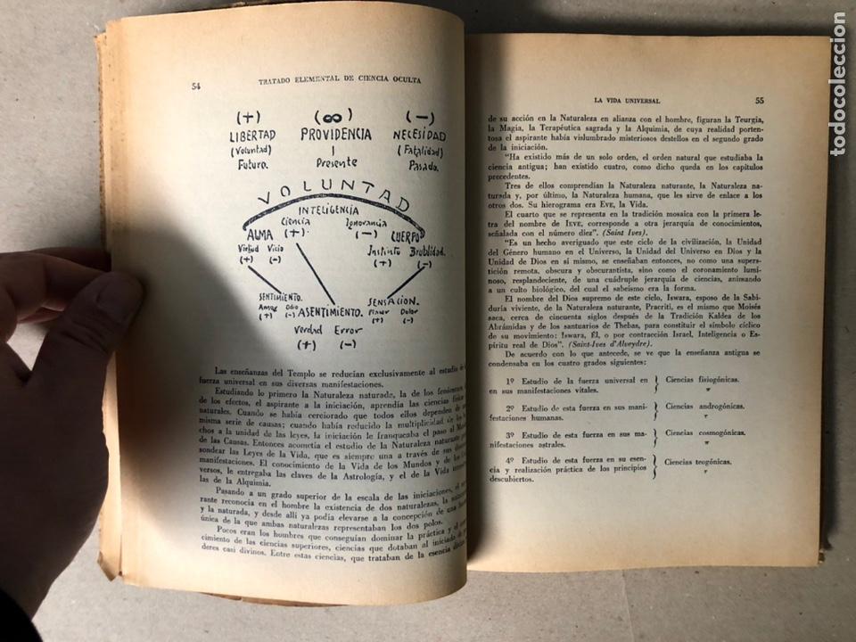 Libros de segunda mano: TRATADO ELEMENTAL DE CIENCIAS OCULTAS. PAPUS (Dr. G. ENCAUSSE). EDICIONES NOVEDADES DE LIBROS. - Foto 4 - 208468582