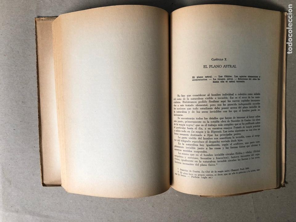 Libros de segunda mano: TRATADO ELEMENTAL DE CIENCIAS OCULTAS. PAPUS (Dr. G. ENCAUSSE). EDICIONES NOVEDADES DE LIBROS. - Foto 8 - 208468582