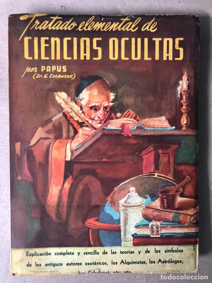 TRATADO ELEMENTAL DE CIENCIAS OCULTAS. PAPUS (DR. G. ENCAUSSE). EDICIONES NOVEDADES DE LIBROS. (Libros de Segunda Mano - Parapsicología y Esoterismo - Otros)