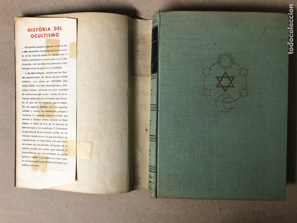 Libros de segunda mano: HISTORIA DEL OCULTISMO. L. de GERIN-RICARD. LUIS DE CARALT EDITOR 1961 (1ªEDICIÓN). - Foto 2 - 208472051