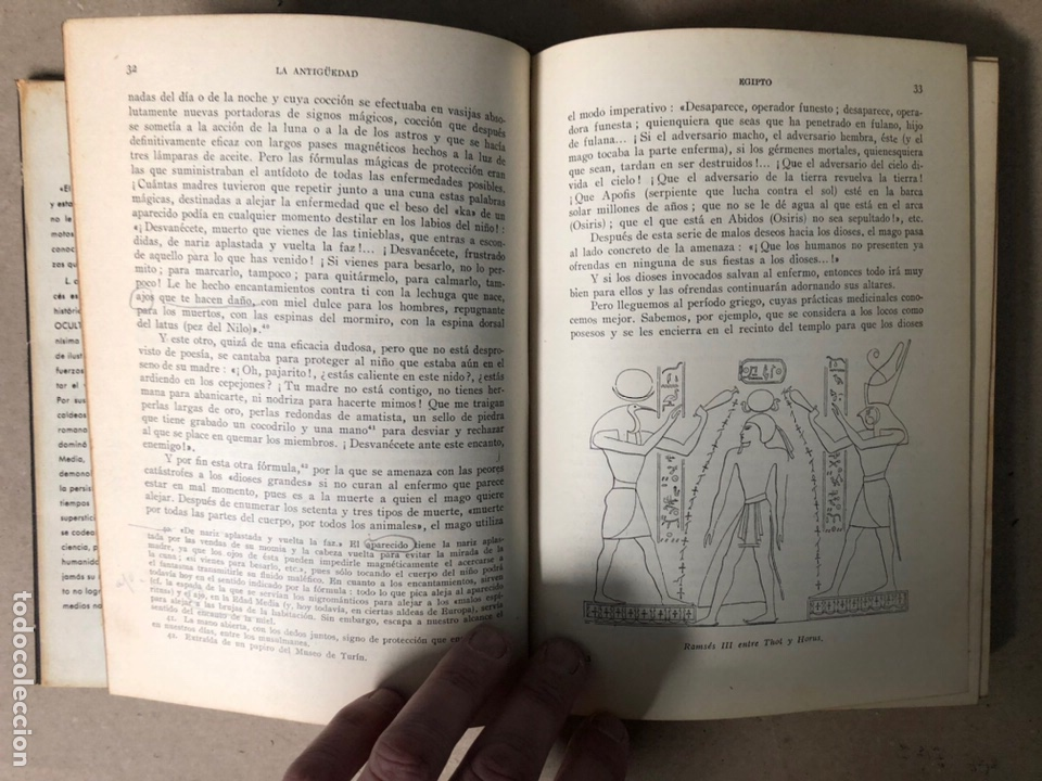Libros de segunda mano: HISTORIA DEL OCULTISMO. L. de GERIN-RICARD. LUIS DE CARALT EDITOR 1961 (1ªEDICIÓN). - Foto 5 - 208472051