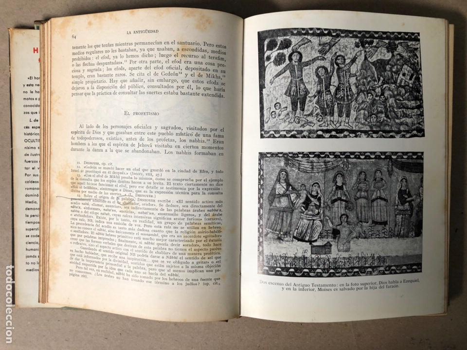 Libros de segunda mano: HISTORIA DEL OCULTISMO. L. de GERIN-RICARD. LUIS DE CARALT EDITOR 1961 (1ªEDICIÓN). - Foto 6 - 208472051