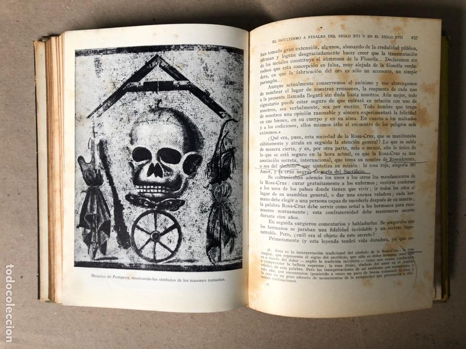 Libros de segunda mano: HISTORIA DEL OCULTISMO. L. de GERIN-RICARD. LUIS DE CARALT EDITOR 1961 (1ªEDICIÓN). - Foto 11 - 208472051