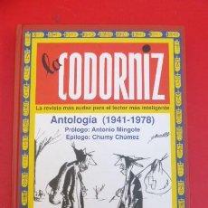 Libros de segunda mano: LA CODORNIZ-ANTOLOGIA 1941-1978. Lote 208489602