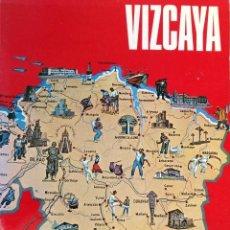Libros de segunda mano: LIBRO: VIZCAYA. AÑO 1968. LIBRO DE LA EXCMA. DIPUTACION PROVINCIAL. Lote 208754311