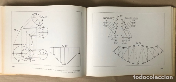 Libros de segunda mano: GUIA DEL TRAZADOR EN CALDERERÍA. LORENZO DEL VAL. EDITORIAL GUSTAVO GILI. CON LIBRO PROBLEMAS. - Foto 11 - 208755548