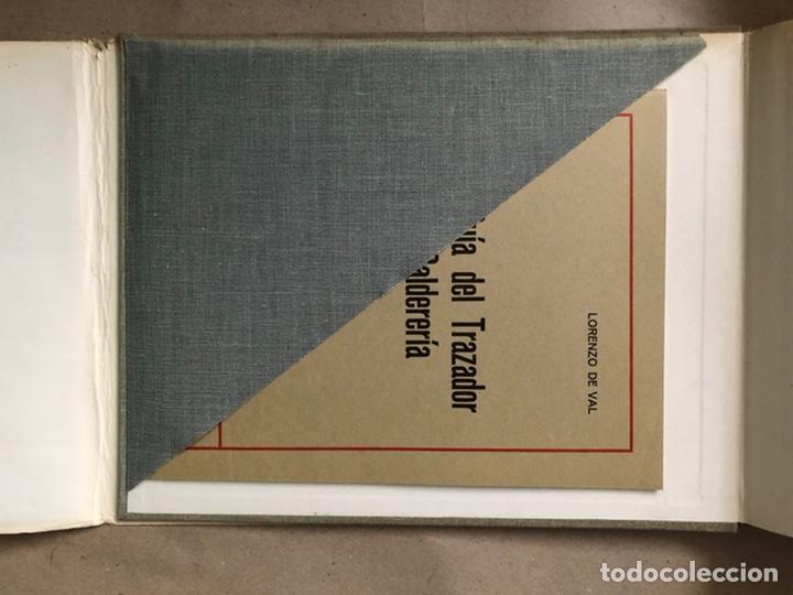 Libros de segunda mano: GUIA DEL TRAZADOR EN CALDERERÍA. LORENZO DEL VAL. EDITORIAL GUSTAVO GILI. CON LIBRO PROBLEMAS. - Foto 12 - 208755548