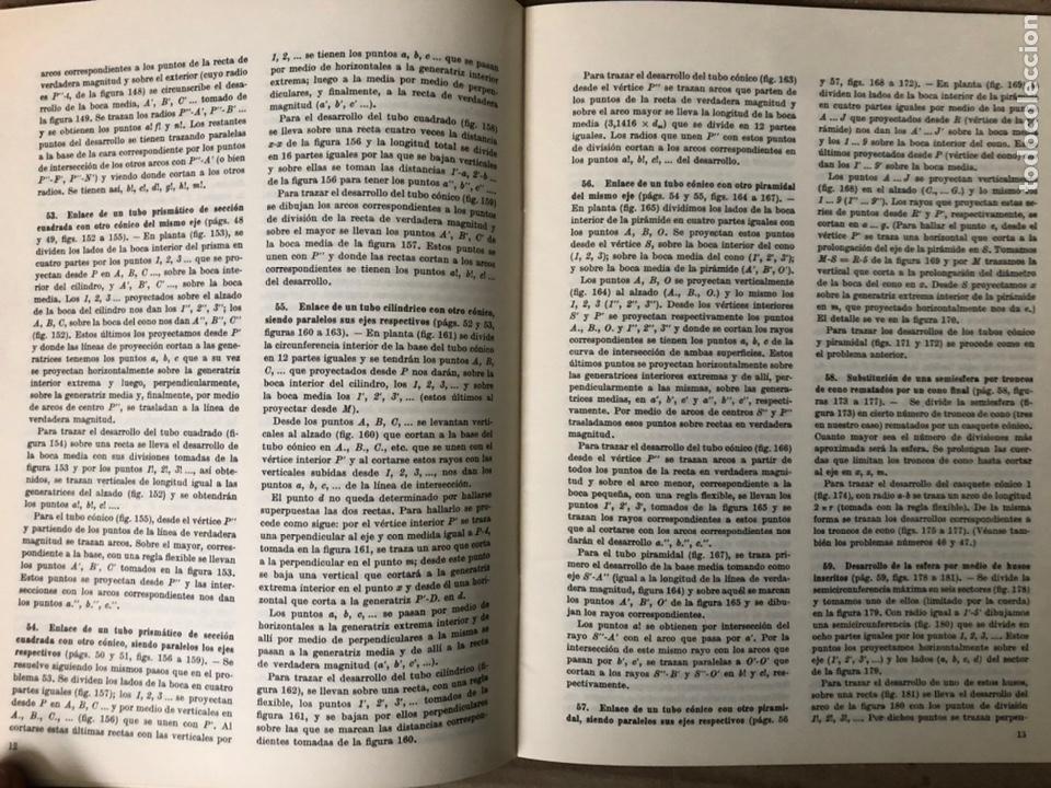 Libros de segunda mano: GUIA DEL TRAZADOR EN CALDERERÍA. LORENZO DEL VAL. EDITORIAL GUSTAVO GILI. CON LIBRO PROBLEMAS. - Foto 15 - 208755548