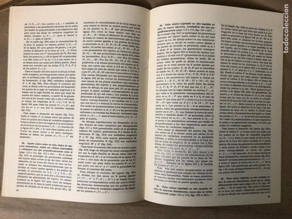 Libros de segunda mano: GUIA DEL TRAZADOR EN CALDERERÍA. LORENZO DEL VAL. EDITORIAL GUSTAVO GILI. CON LIBRO PROBLEMAS. - Foto 16 - 208755548