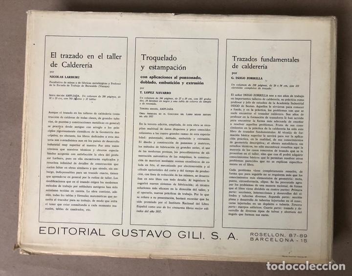 Libros de segunda mano: GUIA DEL TRAZADOR EN CALDERERÍA. LORENZO DEL VAL. EDITORIAL GUSTAVO GILI. CON LIBRO PROBLEMAS. - Foto 18 - 208755548