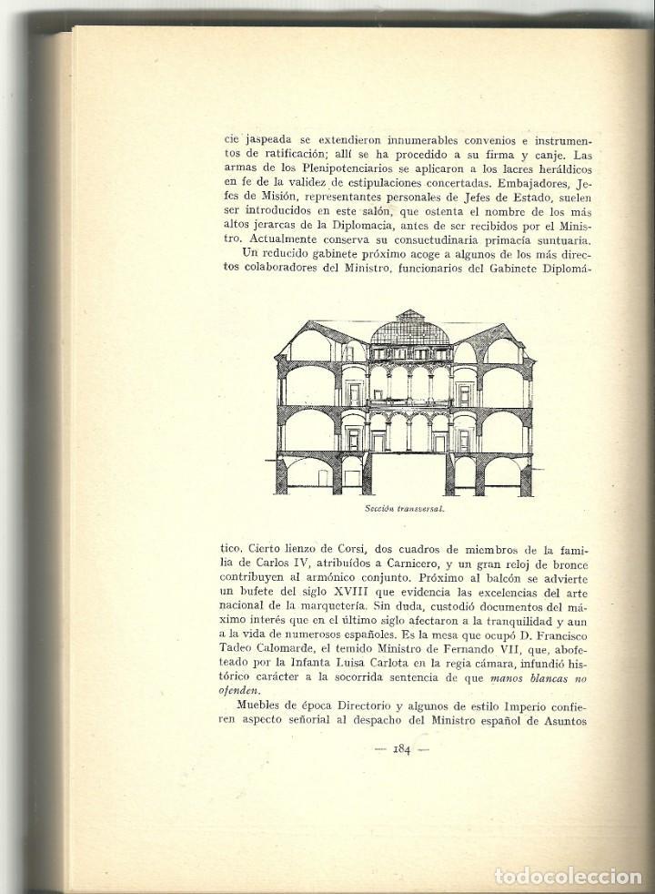 Libros de segunda mano: Juan Bernia - Historia del Palacio de Santa Cruz (1629-1950) - Foto 3 - 208804333