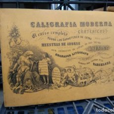 Libri di seconda mano: CALIGRAFÍA MODERNA. CURSO COMPLETO. L.809-1716. Lote 208814526