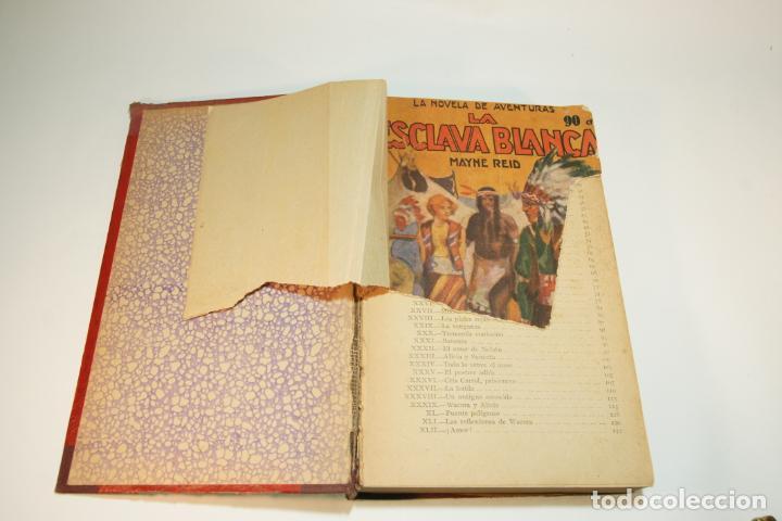 Libros de segunda mano: La esclava blanca. Mayne Reid. Las minas del rey salomón. Rider Haggard. 1ª edición. 1927. BCN. - Foto 2 - 208816395