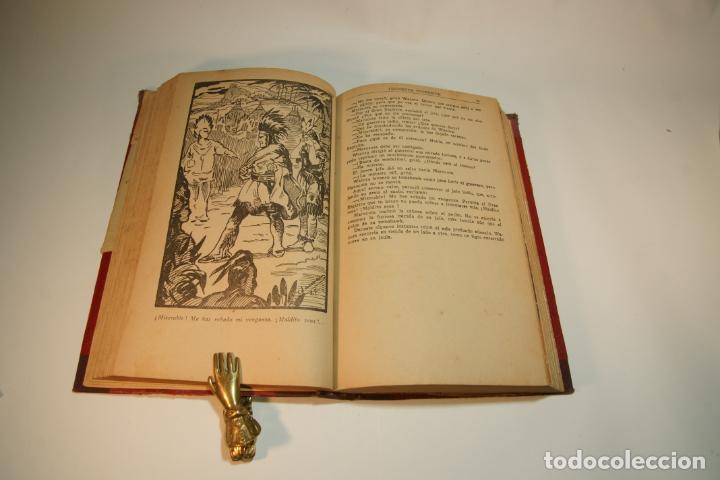 Libros de segunda mano: La esclava blanca. Mayne Reid. Las minas del rey salomón. Rider Haggard. 1ª edición. 1927. BCN. - Foto 4 - 208816395