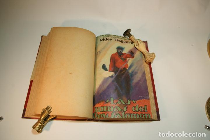 Libros de segunda mano: La esclava blanca. Mayne Reid. Las minas del rey salomón. Rider Haggard. 1ª edición. 1927. BCN. - Foto 5 - 208816395