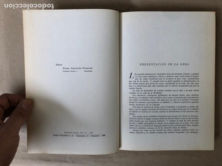 Libros de segunda mano: LA MARINA CÁNTABRA. VV.AA. EDITA: DIPUTACIÓN SANTANDER 1968 (1ªEDICIÓN). 3 TOMOS. - Foto 4 - 208870228