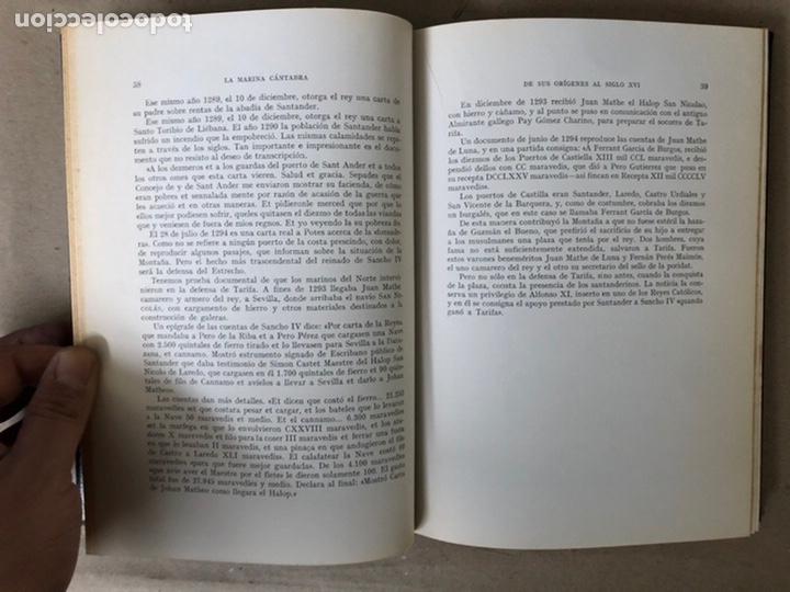 Libros de segunda mano: LA MARINA CÁNTABRA. VV.AA. EDITA: DIPUTACIÓN SANTANDER 1968 (1ªEDICIÓN). 3 TOMOS. - Foto 6 - 208870228