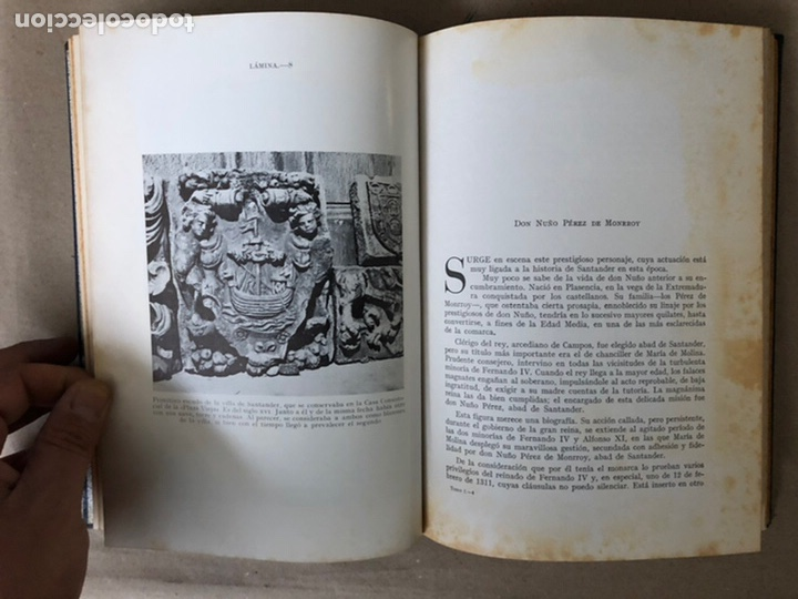 Libros de segunda mano: LA MARINA CÁNTABRA. VV.AA. EDITA: DIPUTACIÓN SANTANDER 1968 (1ªEDICIÓN). 3 TOMOS. - Foto 7 - 208870228
