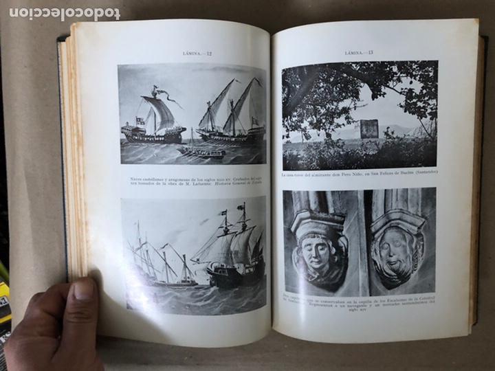 Libros de segunda mano: LA MARINA CÁNTABRA. VV.AA. EDITA: DIPUTACIÓN SANTANDER 1968 (1ªEDICIÓN). 3 TOMOS. - Foto 8 - 208870228