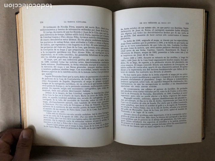 Libros de segunda mano: LA MARINA CÁNTABRA. VV.AA. EDITA: DIPUTACIÓN SANTANDER 1968 (1ªEDICIÓN). 3 TOMOS. - Foto 9 - 208870228