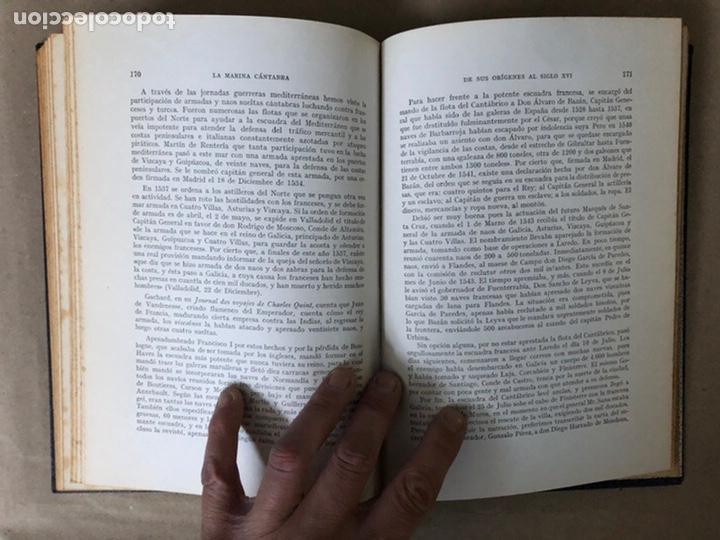 Libros de segunda mano: LA MARINA CÁNTABRA. VV.AA. EDITA: DIPUTACIÓN SANTANDER 1968 (1ªEDICIÓN). 3 TOMOS. - Foto 10 - 208870228