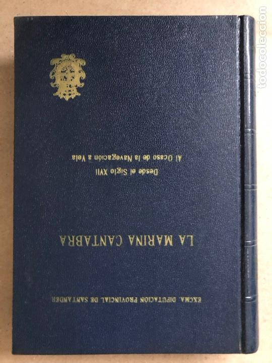 Libros de segunda mano: LA MARINA CÁNTABRA. VV.AA. EDITA: DIPUTACIÓN SANTANDER 1968 (1ªEDICIÓN). 3 TOMOS. - Foto 14 - 208870228