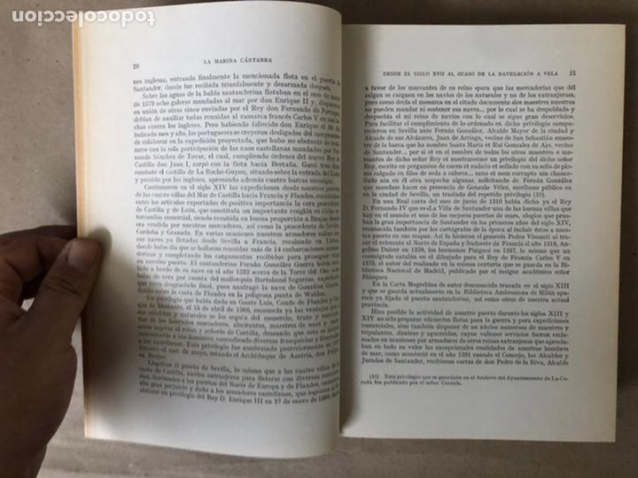 Libros de segunda mano: LA MARINA CÁNTABRA. VV.AA. EDITA: DIPUTACIÓN SANTANDER 1968 (1ªEDICIÓN). 3 TOMOS. - Foto 16 - 208870228
