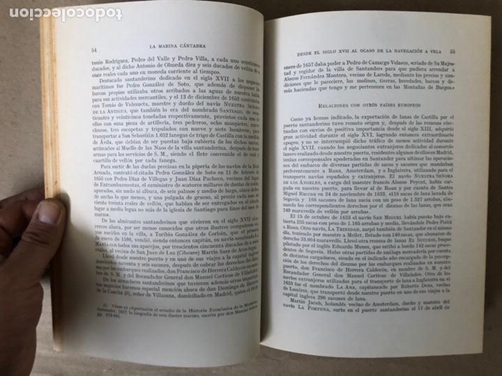 Libros de segunda mano: LA MARINA CÁNTABRA. VV.AA. EDITA: DIPUTACIÓN SANTANDER 1968 (1ªEDICIÓN). 3 TOMOS. - Foto 17 - 208870228