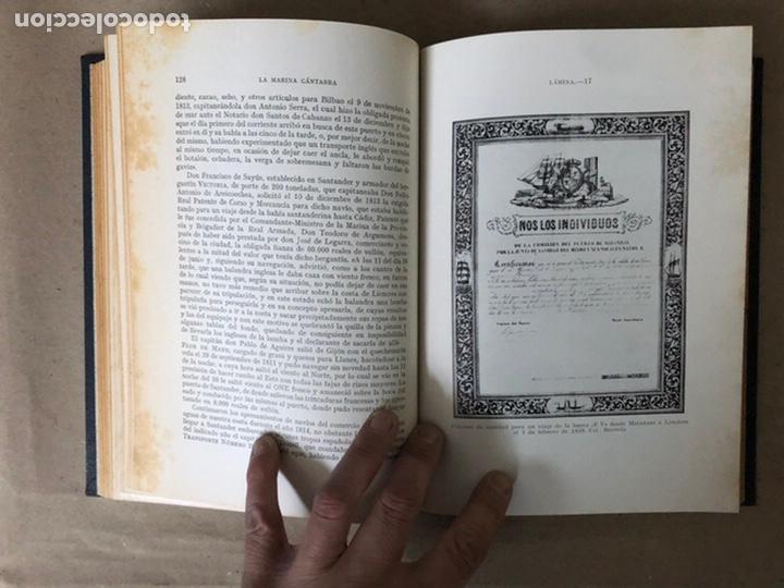 Libros de segunda mano: LA MARINA CÁNTABRA. VV.AA. EDITA: DIPUTACIÓN SANTANDER 1968 (1ªEDICIÓN). 3 TOMOS. - Foto 19 - 208870228