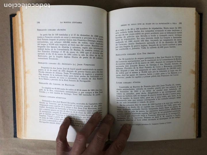 Libros de segunda mano: LA MARINA CÁNTABRA. VV.AA. EDITA: DIPUTACIÓN SANTANDER 1968 (1ªEDICIÓN). 3 TOMOS. - Foto 21 - 208870228