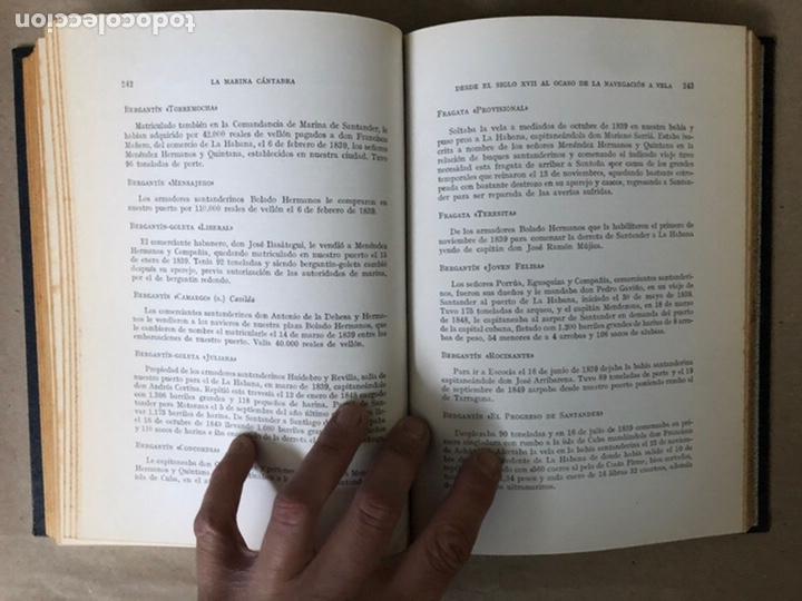 Libros de segunda mano: LA MARINA CÁNTABRA. VV.AA. EDITA: DIPUTACIÓN SANTANDER 1968 (1ªEDICIÓN). 3 TOMOS. - Foto 22 - 208870228