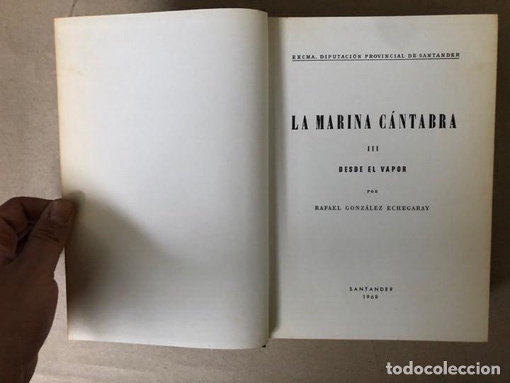 Libros de segunda mano: LA MARINA CÁNTABRA. VV.AA. EDITA: DIPUTACIÓN SANTANDER 1968 (1ªEDICIÓN). 3 TOMOS. - Foto 26 - 208870228