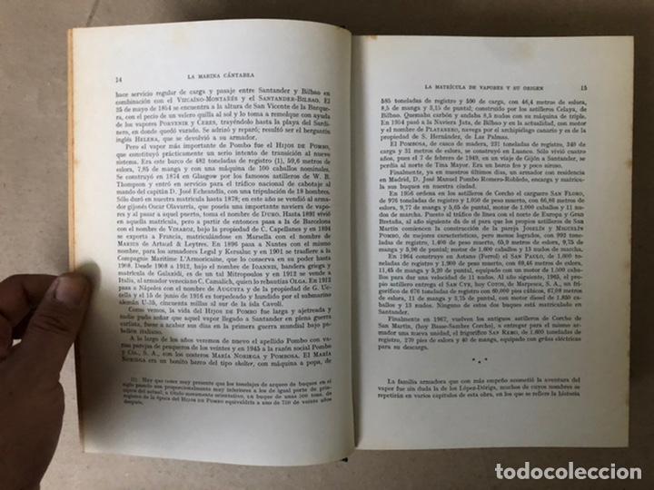 Libros de segunda mano: LA MARINA CÁNTABRA. VV.AA. EDITA: DIPUTACIÓN SANTANDER 1968 (1ªEDICIÓN). 3 TOMOS. - Foto 27 - 208870228