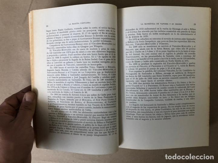 Libros de segunda mano: LA MARINA CÁNTABRA. VV.AA. EDITA: DIPUTACIÓN SANTANDER 1968 (1ªEDICIÓN). 3 TOMOS. - Foto 28 - 208870228