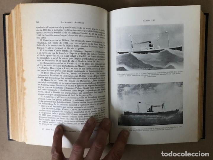 Libros de segunda mano: LA MARINA CÁNTABRA. VV.AA. EDITA: DIPUTACIÓN SANTANDER 1968 (1ªEDICIÓN). 3 TOMOS. - Foto 32 - 208870228