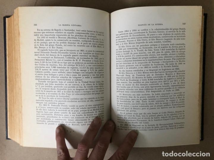 Libros de segunda mano: LA MARINA CÁNTABRA. VV.AA. EDITA: DIPUTACIÓN SANTANDER 1968 (1ªEDICIÓN). 3 TOMOS. - Foto 34 - 208870228