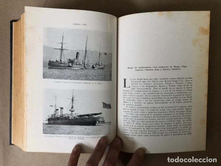 Libros de segunda mano: LA MARINA CÁNTABRA. VV.AA. EDITA: DIPUTACIÓN SANTANDER 1968 (1ªEDICIÓN). 3 TOMOS. - Foto 35 - 208870228