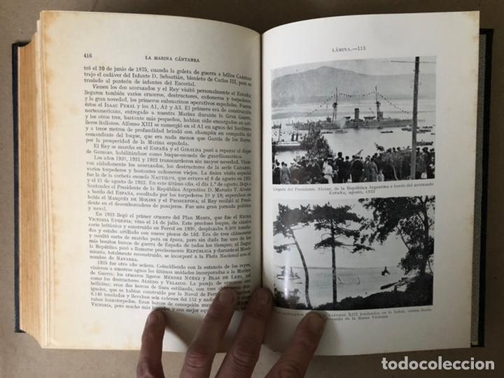 Libros de segunda mano: LA MARINA CÁNTABRA. VV.AA. EDITA: DIPUTACIÓN SANTANDER 1968 (1ªEDICIÓN). 3 TOMOS. - Foto 36 - 208870228