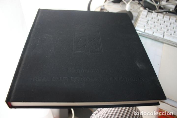 LIBRO 50 ANIVERSARIO DEL CLUB DE GOLF DELA CORUÑA (Libros de Segunda Mano - Bellas artes, ocio y coleccionismo - Otros)