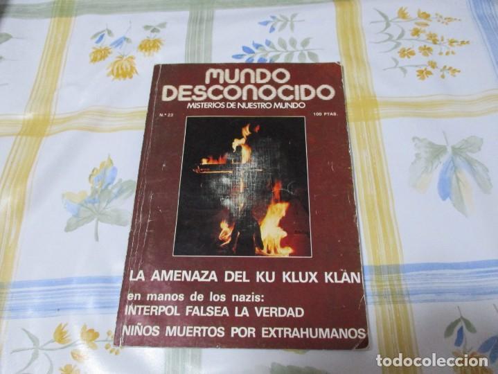 REVISTA MUNDO DESCONOCIDO Nº 23. . DIRECTOR ANDREAS FABER KAISER. (Libros de Segunda Mano - Parapsicología y Esoterismo - Otros)