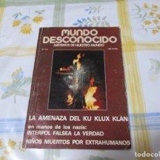 Libros de segunda mano: REVISTA MUNDO DESCONOCIDO Nº 23. . DIRECTOR ANDREAS FABER KAISER.. Lote 208985825