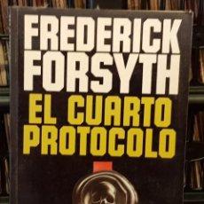 Libros de segunda mano: FREDERICK FORSYTH - EL CUARTO PROTOCOLO. Lote 209006677
