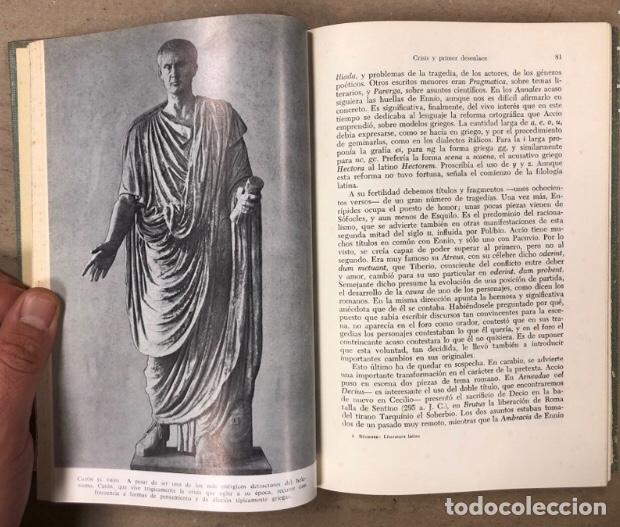 Libros de segunda mano: HISTORIA DE LA LITERATURA LATINA. KARL BÜCHNER. EDITORIAL LABOR (1968). - Foto 5 - 209031051