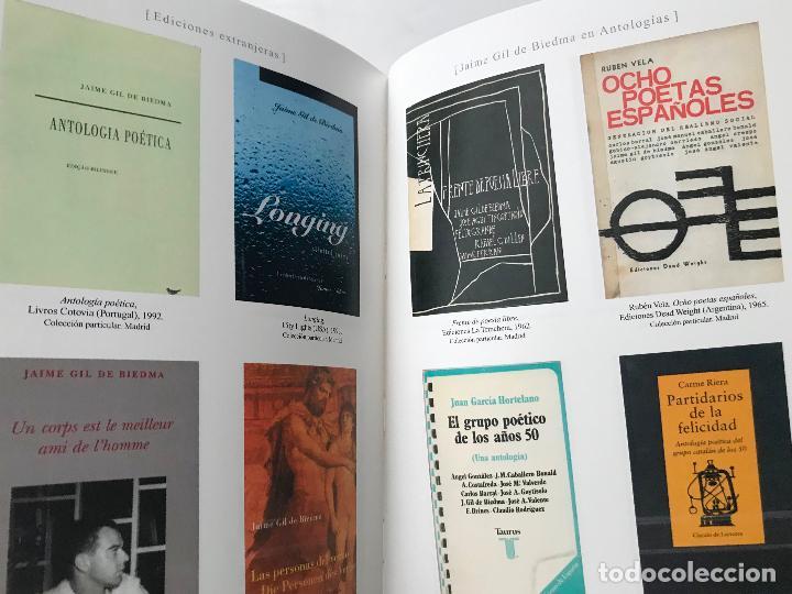 Libros de segunda mano: La persona y el verbo. 25 años de la muerte de Gil de Biedma.(1990-2015).-NUEVO - Foto 5 - 209067971
