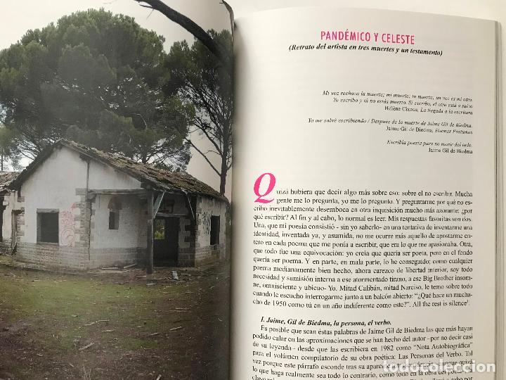 Libros de segunda mano: La persona y el verbo. 25 años de la muerte de Gil de Biedma.(1990-2015).-NUEVO - Foto 7 - 209067971