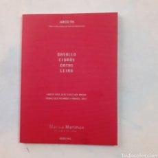 Libros de segunda mano: ARCO 96. GALERIA MARISA MARIMON. 44 PGS. BASALLO, CIDRAS, DATAS, LEIRO. 21 X 15,5 CM.. Lote 209114938