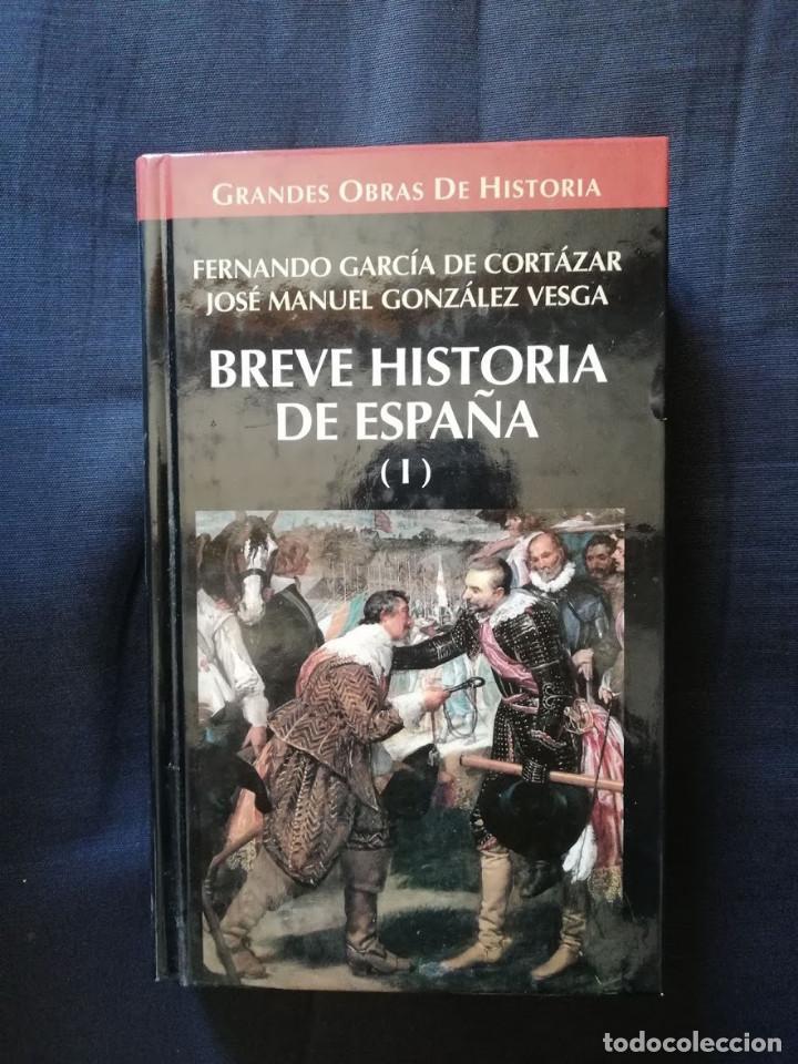 BREVE HISTORIA DE ESPAÑA I - FERNANDO GARCÍA DE CORTÁZAR-JUAN MANUEL GONZÁLEZ VESGA (Libros de Segunda Mano - Historia - Otros)