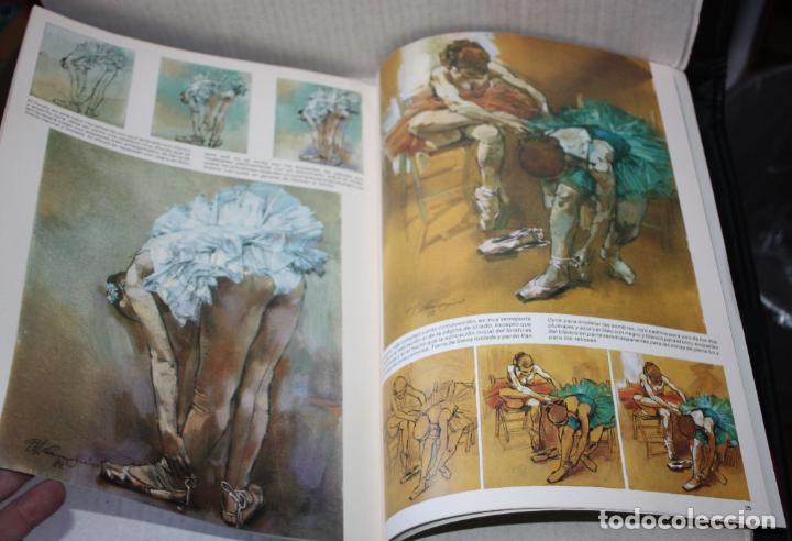 Libros de segunda mano: COLECCIÓN LEONARDO nº 30 : PINTEMOS LAS BAILARINAS (CUADERNO de PINTURA ) - Foto 2 - 209132880